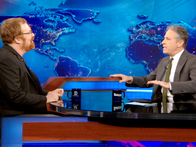 R.J. Cutler | February 27th 2013 | The Daily Show with Jon Stewart