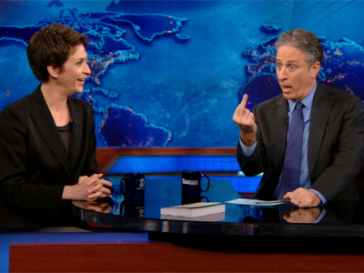Rachel Maddow | February 28th 2013 | The Daily Show with Jon Stewart