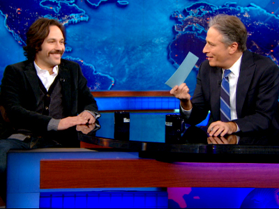 Paul Rudd | March 4th 2013 | The Daily Show with Jon Stewart