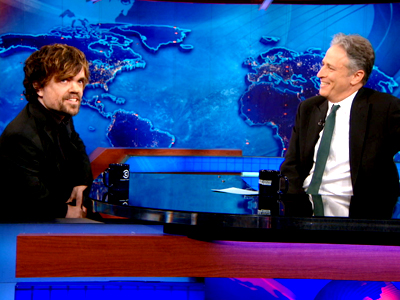 Peter Dinklage | March 25th 2013 | The Daily Show with Jon Stewart