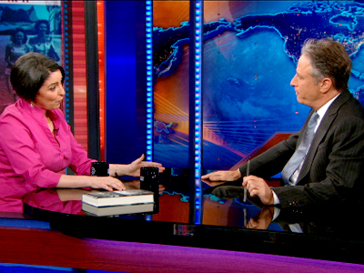 Denise Kiernan Extended Interview - The Daily Show
