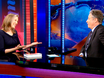 Mary Roach | April 1st 2013 | The Daily Show with Jon Stewart