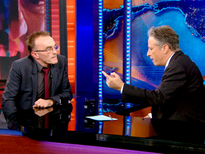 Danny Boyle | April 4th 2013 | The Daily Show with Jon Stewart