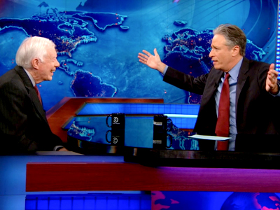 Jimmy Carter | April 9th 2013 | The Daily Show with Jon Stewart