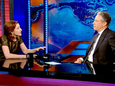Edie Falco | April 11th 2013 | The Daily Show with Jon Stewart