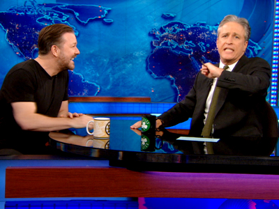 Ricky Gervais | April 17th 2013 | The Daily Show with Jon Stewart