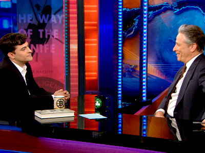 Mark Mazzetti | April 18th 2013 | The Daily Show with Jon Stewart