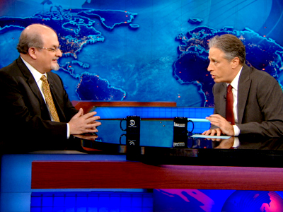 Salman Rushdie | April 23rd 2013 | The Daily Show with Jon Stewart