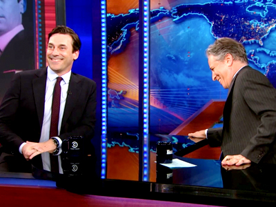 Jon Hamm | April 29th 2013 | The Daily Show with Jon Stewart