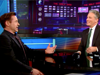 Robert Downey Jr. | April 30th 2013 | The Daily Show with Jon Stewart