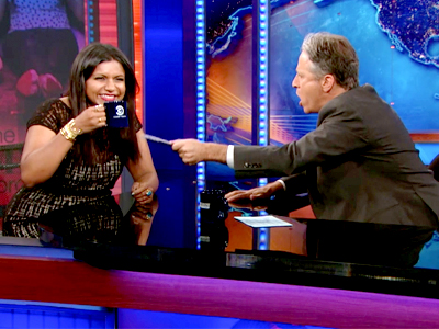 Mindy Kaling - The Daily Show