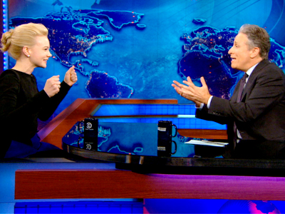 Carey Mulligan | May 8th 2013 | The Daily Show with Jon Stewart