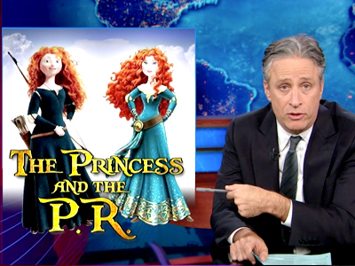 The Princess and the P.R. - The Daily Show