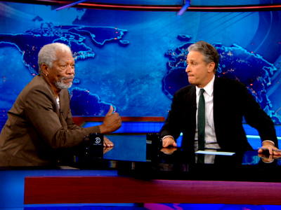 Morgan Freeman - The Daily Show