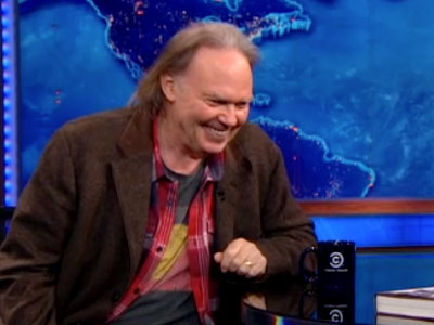 Neil Young | November 28th 2012 | The Daily Show with Jon Stewart