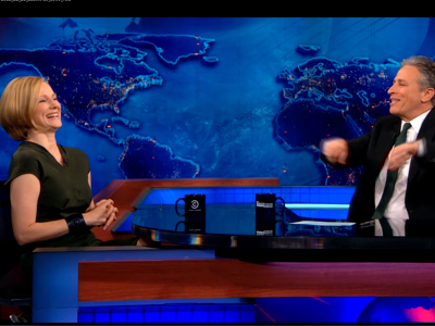 Laura Linney | December 11th 2012 | The Daily Show with Jon Stewart