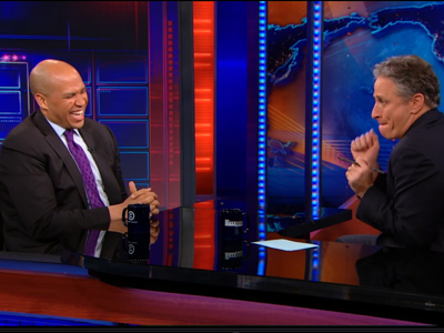 Cory Booker | December 12th 2012 | The Daily Show with Jon Stewart