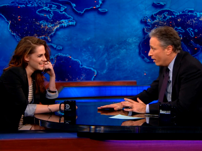 Kristen Stewart | December 13th 2012 | The Daily Show with Jon Stewart