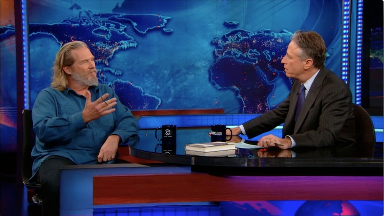 Jeff Bridges | January 9th 2013 | The Daily Show with Jon Stewar