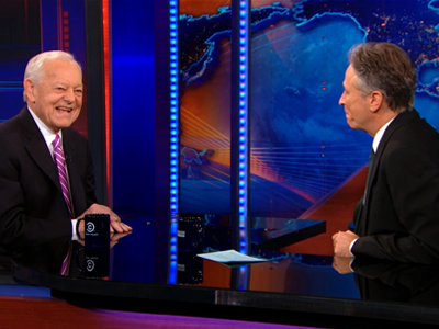 Bob Schieffer | January 15th 2013 | The Daily Show with Jon Stewart