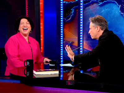 Justice Sonia Sotomayor | January 21st 2013 | The Daily Show with Jon Stewart