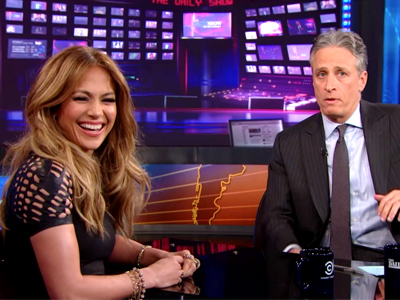 Jennifer Lopez | January 22nd 2013 | The Daily Show with Jon Stewart