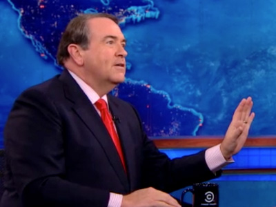 Mike Huckabee | November 12th 2012 | The Daily Show with Jon Stewart