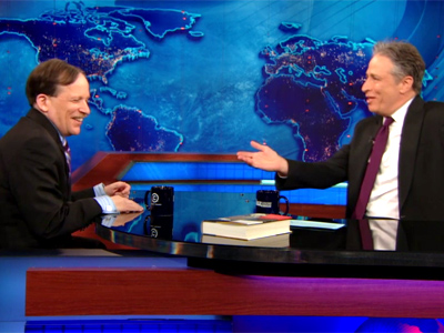 Jonathan Sperber | April 2nd 2013 | The Daily Show with Jon Stewart