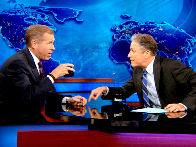 Brian Williams | June 4th 2013 | The Daily Show with Jon Stewart