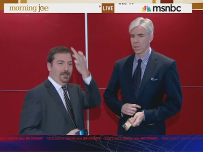 Chuck Todd Gives the Finger - The Daily Show: Moment of Zen