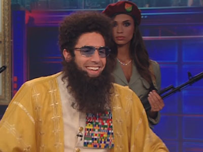 Admiral General Aladeen Interview - The Daily Show