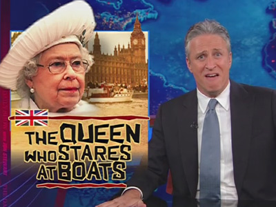 The Queen Who Stares at Boats - The Daily Show