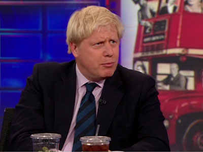 Boris Johnson Interview - The Daily Show