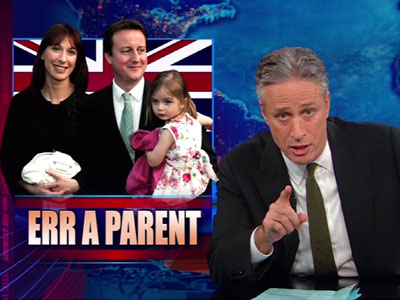 Err a Parent - John Oliver & British Pub Orphans - The Daily Show