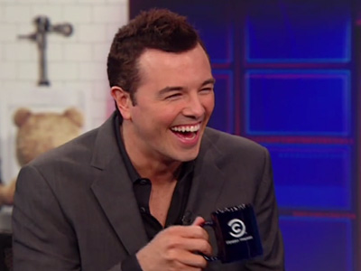 Seth MacFarlane Interview - The Daily Show