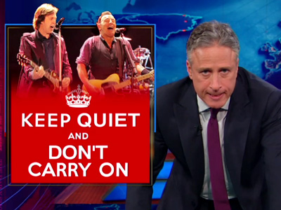 Keep Quiet and Don't Carry On - The Daily Show