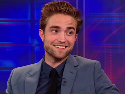 Robert Pattinson and Jon Stewart bond over ice cream - The Daily Show Interview