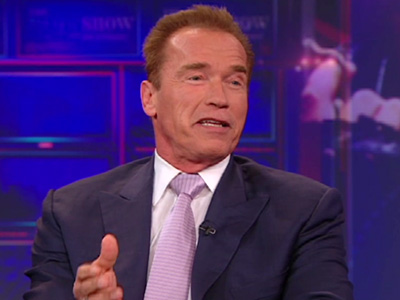 Arnold Schwarzenegger - The Daily Show