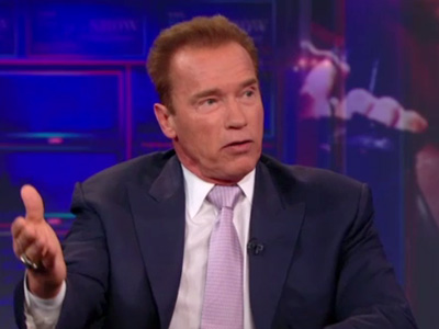 Arnold Schwarzenegger Extended Interview Pt. 2