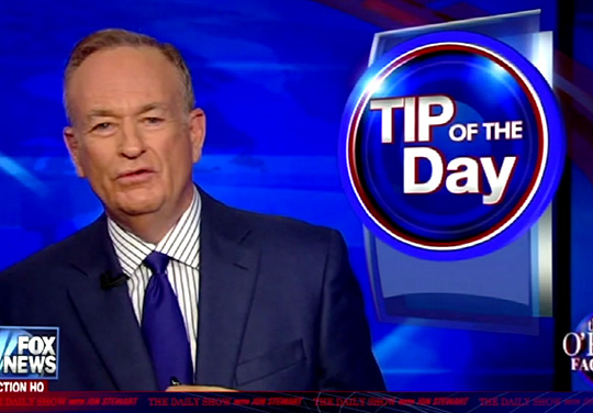 Bill O'Reilly's Fashion Advice - The Daily Show: Moment of Zen