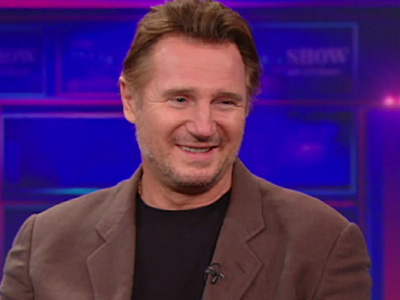 Liam Neeson - The Daily Show