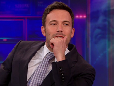 Ben Affleck on Argo - The Daily Show