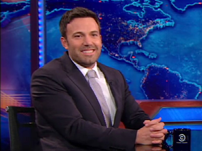 Ben Affleck on the Canadian People - The Daily Show