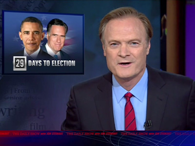Lawrence O'Donnell's Warning - The Daily Show: Moment of Zen