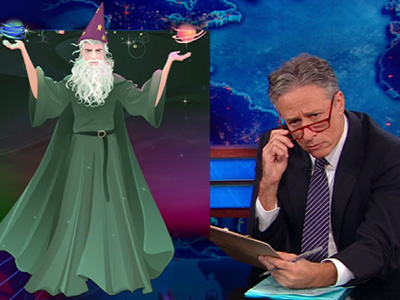 Vague Against the Machine - Romney's Wizardry - The Daily Show