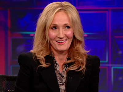 J.K. Rowling on Self-Belief - The Daily Show