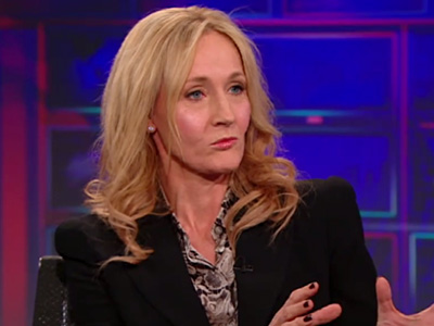 J.K. Rowling on The Casual Vacancy - The Daily Show