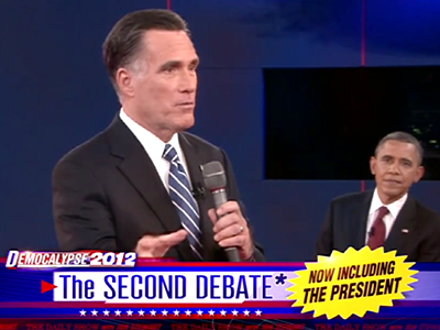 Binders of Women - The Second Debate*: Now Including the President - The Daily Show