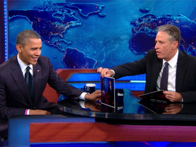 Barack Obama - The First Debate - The Daily Show