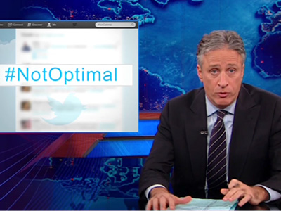 Not Optimal-Gate - The Daily Show